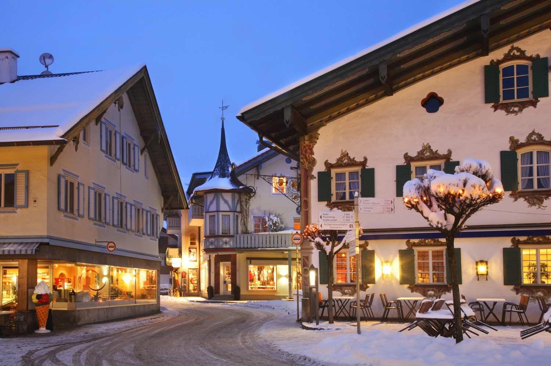 Ortskern Oberammergau